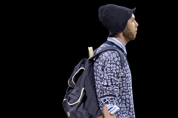 White Mountaineering 2011SSのショーから