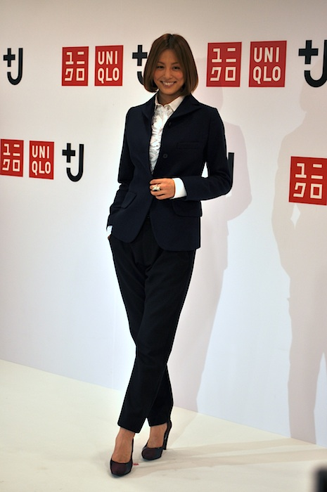 「+J」先行販売イベントゲストの米倉涼子さん