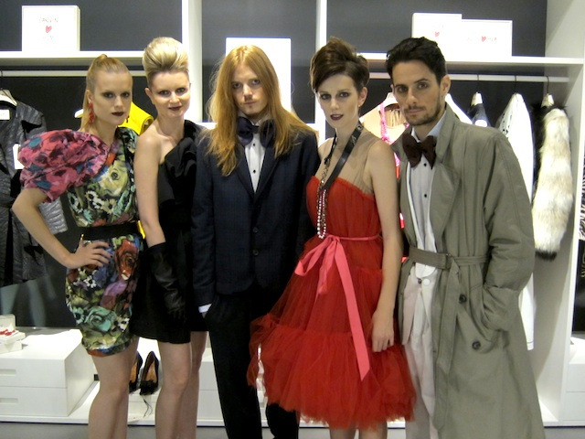 「Lanvin for H&M」プレスプレビューの模様