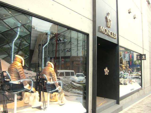 モンクレール国内初の旗艦店オープン 全ライン集約する店内公開