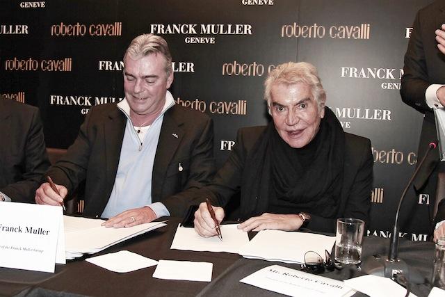 Franck MullerとRoberto Cavalli