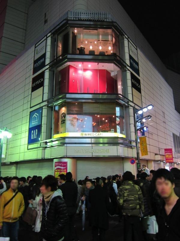 閉店した新宿三越アルコット店