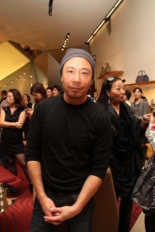 2011年FNOに来日したDerek Lam