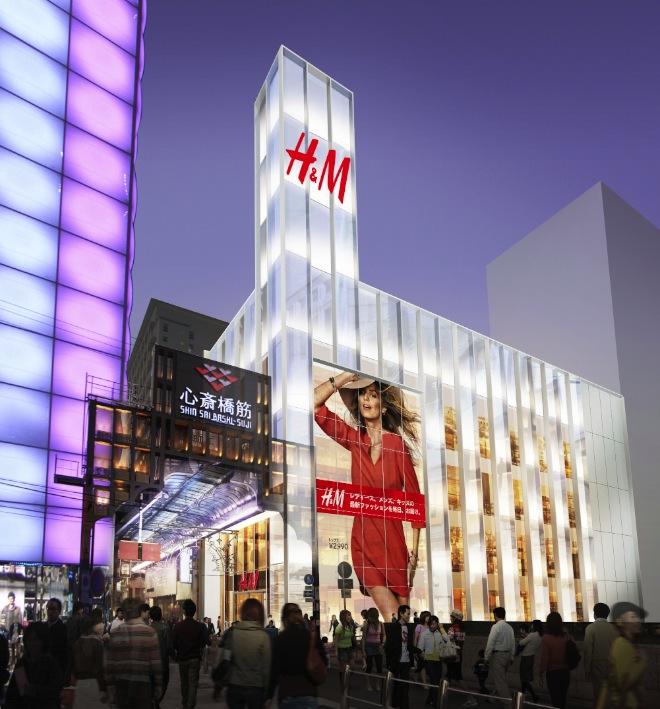 心斎橋ZERO GATEに出店する「H&M」 イメージ画像