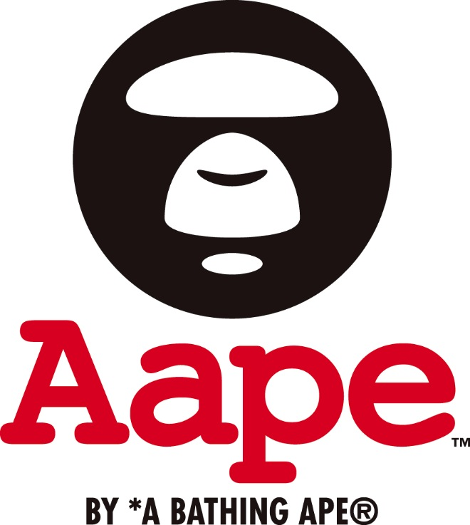 AAPE BY A BATHING APE®ロゴ