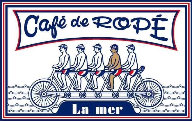 「Cafe' de Rope' La mer」が開催