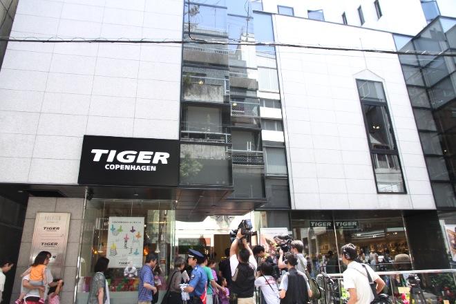 タイガーコペンハーゲン アメリカ村店 オープン時の様子