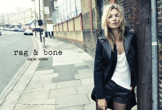 「rag & bone」2012年秋冬コレクションの広告ビジュアル