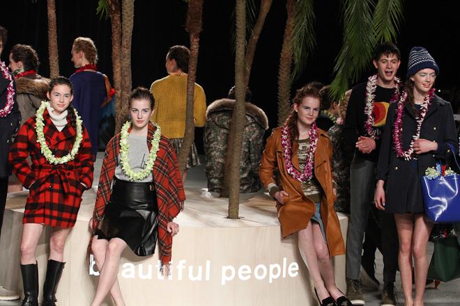 beautiful people 2012-13年秋冬コレクション