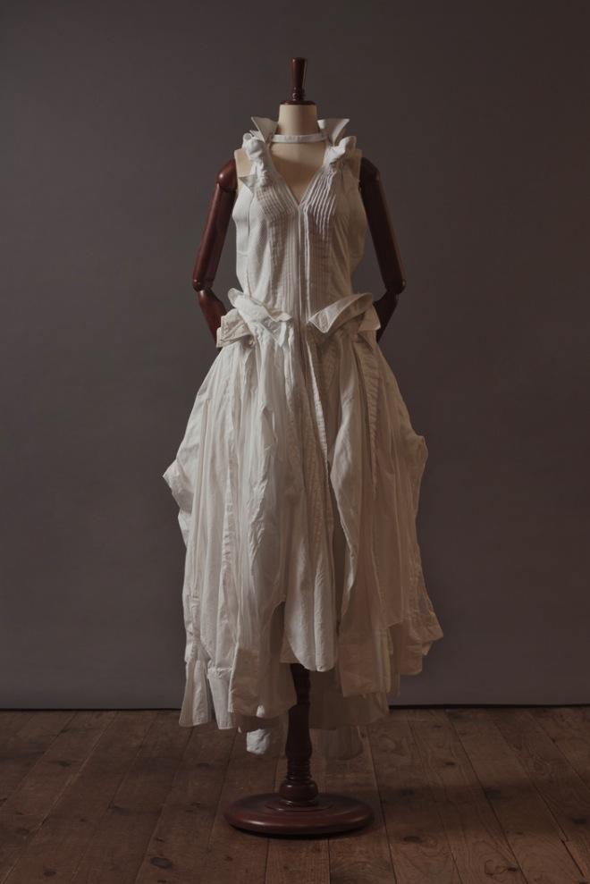 UNDERCOVER ヴィンテージシャツで作られたドレス