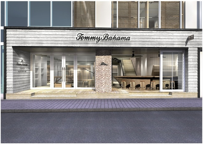 Tommy Bahama日本1号店 ショップイメージ