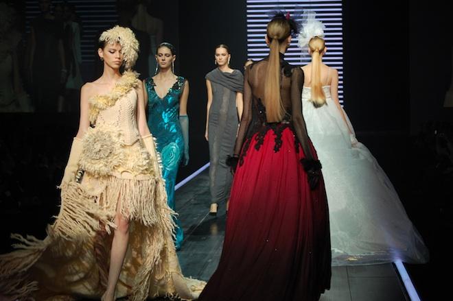 島精機製作所 ニットウェアのファッションショー