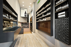 イソップが渋谷に路面店オープン、トラフ建築設計事務所とコラボ