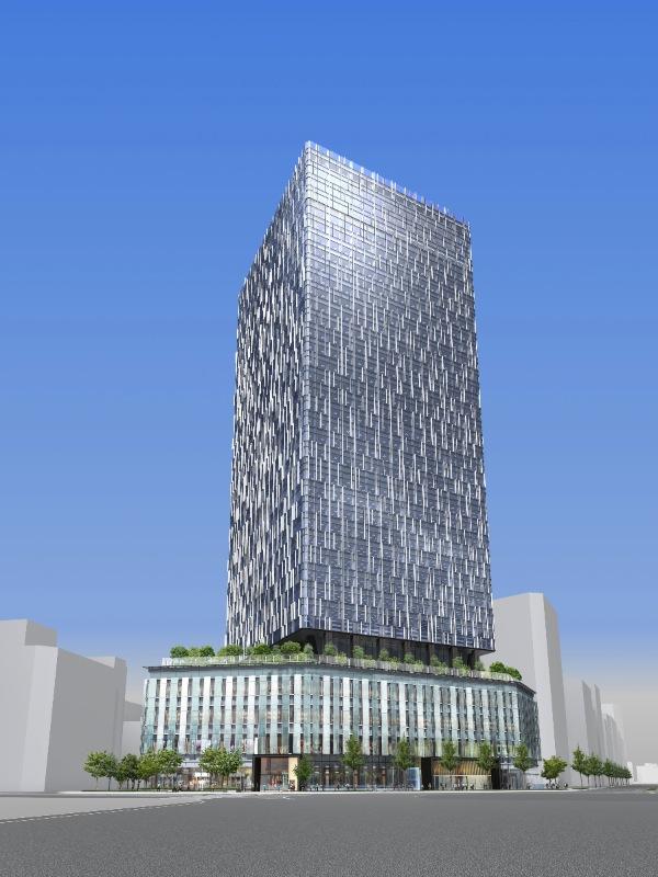 大名古屋ビルヂング 新築ビルの外装イメージ