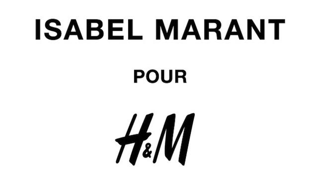 ISABEL MARANT POUR H&Mロゴ