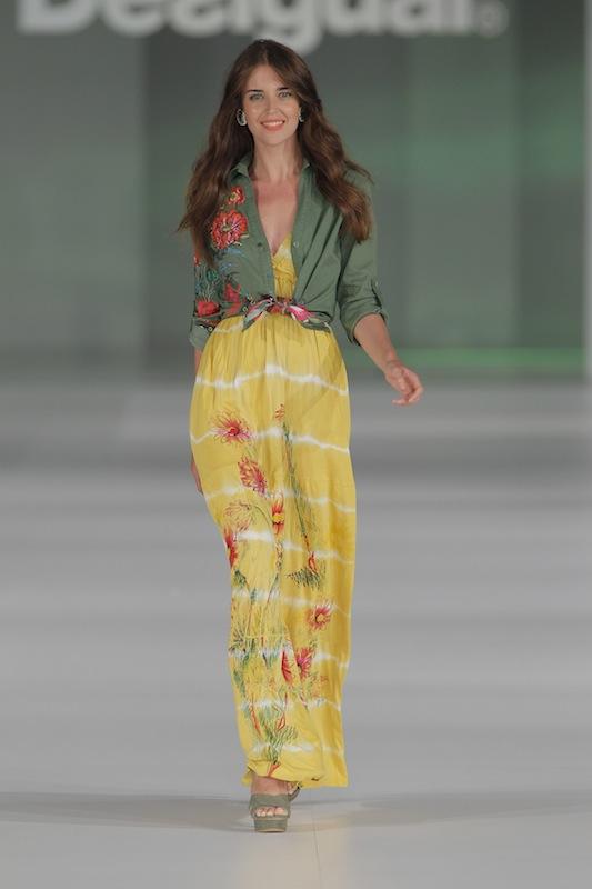 080 Barcelona Fashionで発表されたDesigual2014春夏コレクション