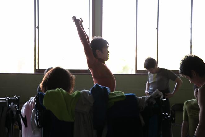 青森大学新体操部 公演の舞台裏