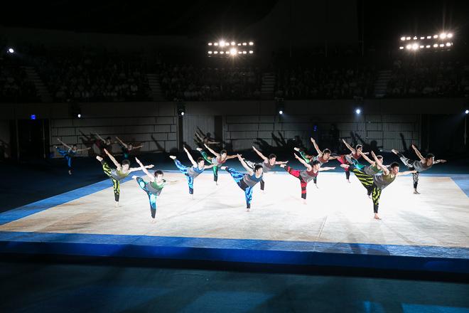 青森大学男子新体操部