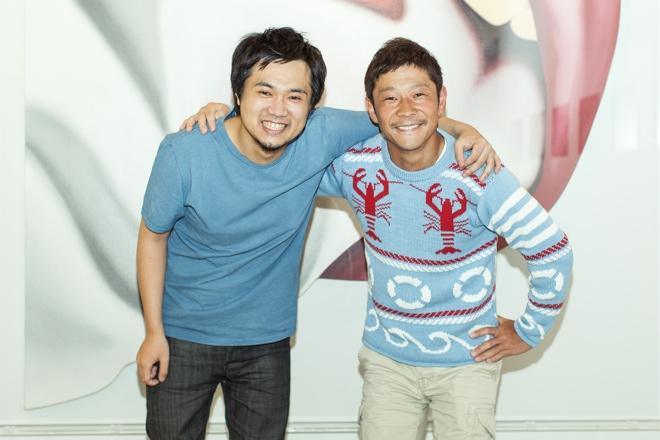 ブラケット代表取締役兼CEO 光本勇介、スタートトゥデイ代表取締役 前澤友作