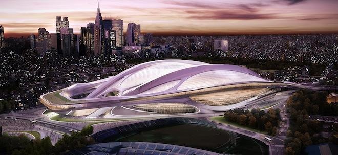 Zaha Hadid Architectsによる新国立競技場デザイン案