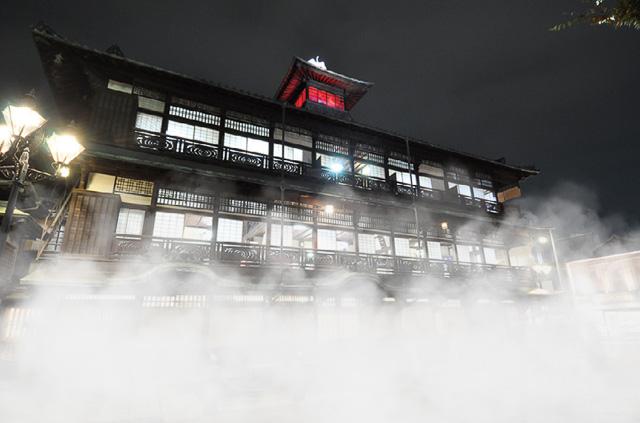 温泉宿とアートが融合「道後オンセナート2014」光や霧の作品と新クリエイター追加