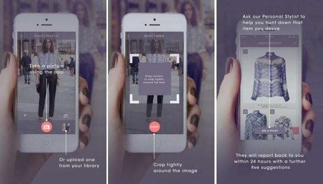 写真を撮るだけで服のブランドがわかるアプリ「ASAP54」の画像