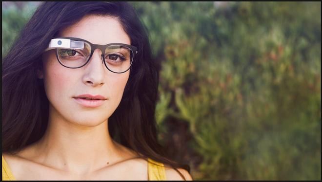Google Glass Google+ページより