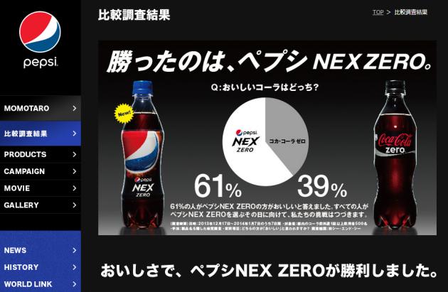 【異業種マーケティングに学ぶ】ペプシが仕掛けるコカ・コーラとの比較広告が話題の画像