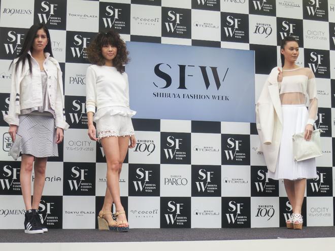 近藤亜子がスタイリング監修したファッションショー