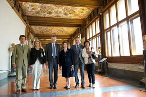 フェラガモ、ウフィツィ美術館の一部改修に8千万円超の支援