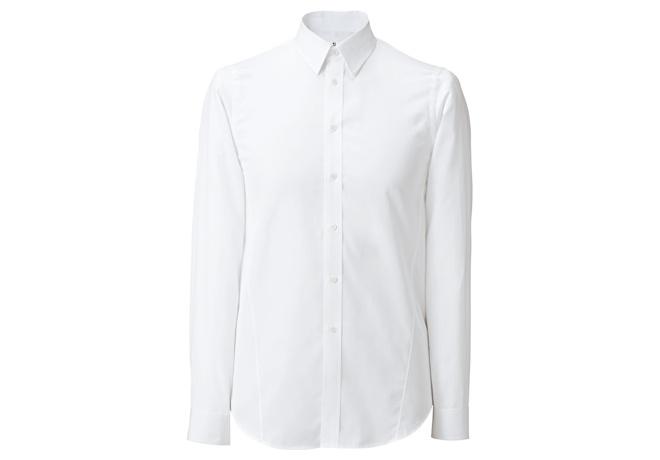 +J エクストラファインコットン スリムフィットシャツ ¥3,990(税別)