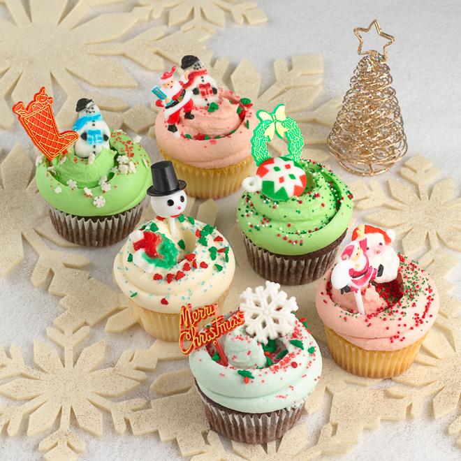 マグノリアベーカリー表参道「クリスマスカップケーキ」