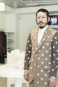 「アンリアレイジ」デザイナー森永邦彦 テクノロジーとファッションの関係語るの画像