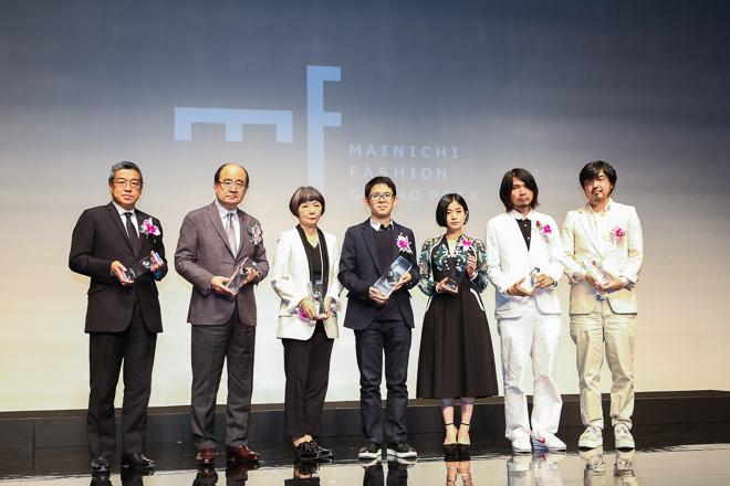2014年度「毎日ファッション大賞」受賞者
