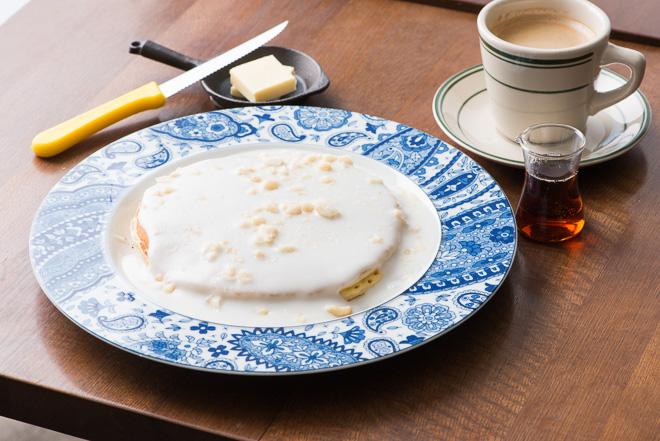 「フォーティーナイナー」が提供するパンケーキ