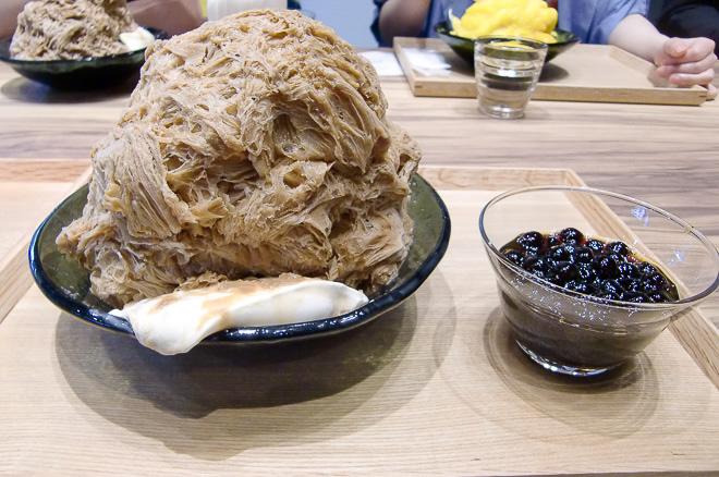 【連載 台湾スイーツ③】日本初上陸、ふわふわ&濃厚の新食感かき氷「アイスモンスター」に行ってみたの画像