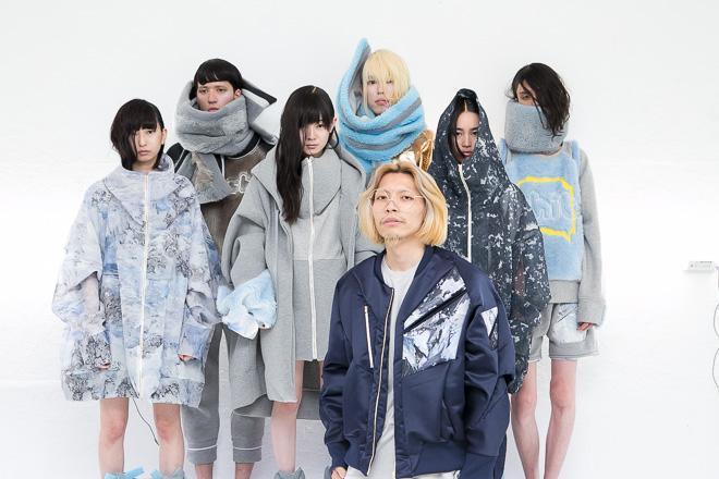 2015-16年秋冬コレクションとデザイナーのHACHI