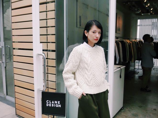 CLANE DESIGN代表取締役社長兼クリエイティブディレクター 松本恵奈 画像:Fashionsnap.com