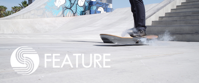 【動画】レクサスが開発中 ホバーボード公開の画像