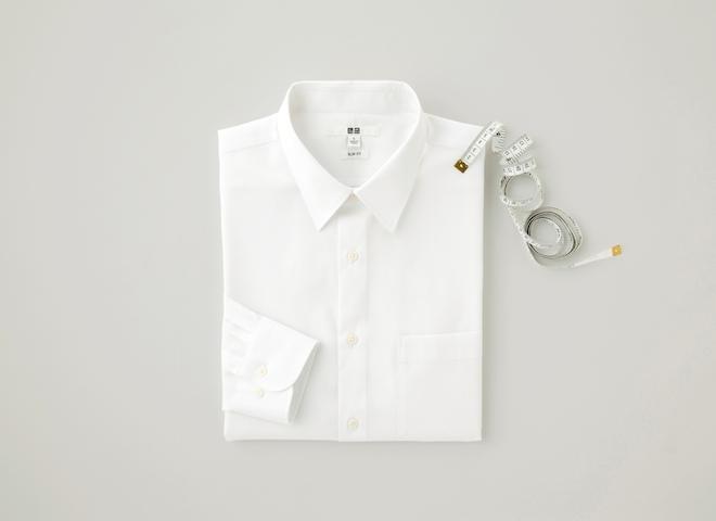 ユニクロ「きれいめシャツ」