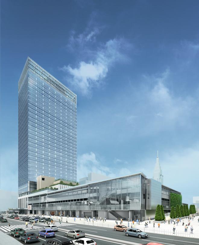 2016年春開業の複合ビル名称「JR...