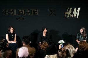 デザイナーが語るバルマン×H&M「手が届くクチュール」を表現