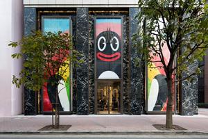 1階はキャラクターフロアに、国内最大旗艦店「モンクレール 銀座」で注目「FriendsWithYou」とは?