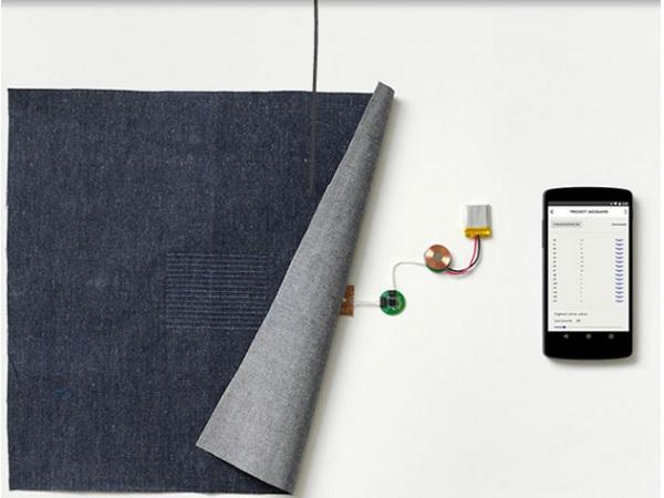 Google、衣服をタッチスクリーンにする新技術開発中の画像