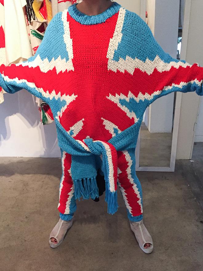 ユニオンジャックセーター