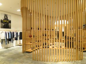 A.P.C.京都店が移転リニューアル 日本建築をヒントに