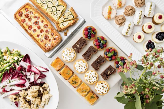3月25日にオープンする「サロン ベイク アンド ティー(SALON BAKE & TEA)」フードメニュー ※季節や食材手配によって変更になる可能性あり