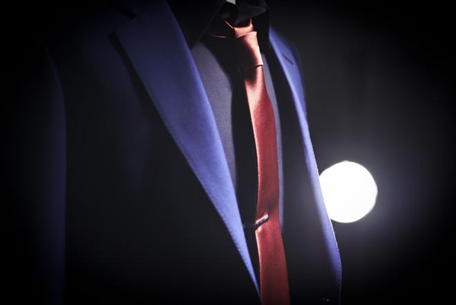 ルパンをイメージしたオーダースーツ/テーラー&カッター