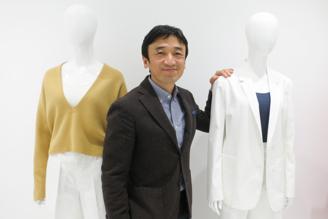 ユニクロR&D(デザイナー・パタンナー)統括責任者、ファーストリテイリング執行役員 勝田幸宏氏