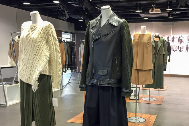 ヤストシ エズミ 2016-17年秋冬コレクション展示会